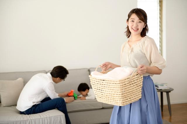 洗濯物の生乾きとオサラバ!コインランドリーで家事時短を!